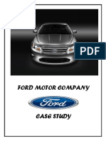 Geely Case Study | Ford Motor Company | Mergers And Acquisitions