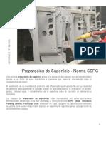 Preparacion de Superficies Norma SSPC Granallado