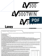 Laney LV300H user manual