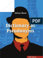 0786443731 Pseudonyms
