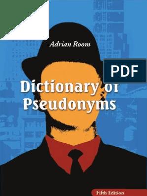 0786443731 Pseudonyms