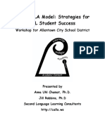 The  CALLA Model - Strategies for ELL Student   Success