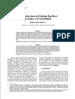 Rodrigo Rey Rosa Un Vuelco a La Racionalidad