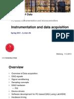 l6 Instrumentation and Data Acquisition v2