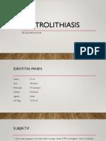 uretrolithiasis ppt