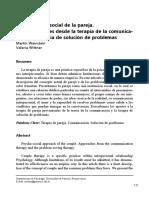 Terapia de Pareja Comunicaci n y Resoluci n de Problemas (1)