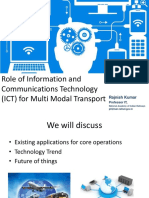6 Role of IT in Multimodal Transport