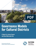 GCDN Governance Models for Cultural Districts 2018