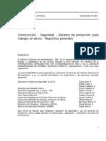 Nch 2458 Proteccion Trabajo Altura PDF