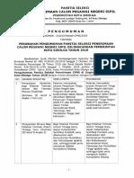 Perubahan Pengumuman Panitia Seleksi Penerimaan CPNS di lingkungan Pemerintah Kota Sibolga Tahun 2018.pdf