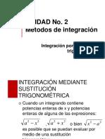 Integracion Por Sustitucion Trigonometrica Pdf