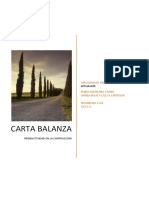 Informe Carta Balance
