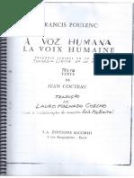 A Voz Humana (Poulenc/Jean Cocteau)