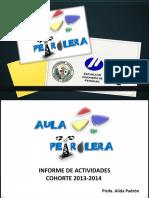 Informe Aula Petrolera 2013-2014