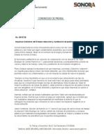 25-09-2018 Impulsan Gobierno del Estado reducción y sustitución de plásticos