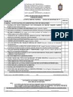 1.- Planilla de Registro de Documentos