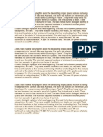 Plastic Pollution Text