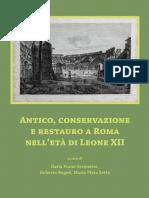 Antico, Conservazione e Restauro a Roma Nell'Età Di Leone XII