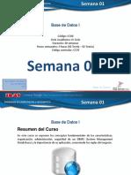 Base de Datos - IDAT