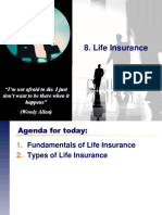 8. Life Insurance