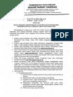 Pengumuman Seleksi Administrasi CPNS Pemko Medan 2018