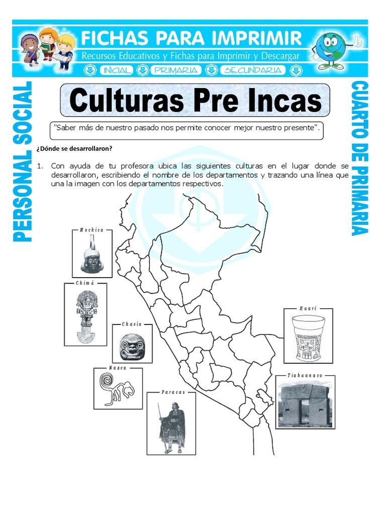 Culturas Pre Incas Del Peru Para Ninos