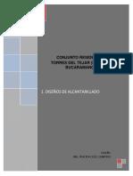 DISEÑO ALCANTARILLADO TORRES TEJAR