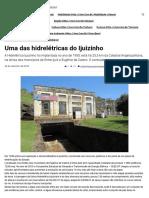 Uma Das Hidrelétricas Do Ijuizinho - Jornal e Revista O Mensageiro
