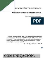 Comunicación, Expresión y Lenguaje.