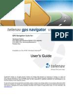 TeleNav Version 5.2 User's Guide - AT&T (Windows Mobile 8525, 8925, BlackJack2, Pantech Duo)
