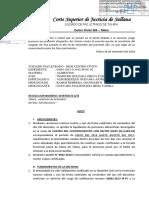 Talara Alimentos Resolcuion Liquidacion y Copias Certifiacdas