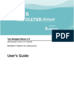 Your Navigator Deluxe v1.0 User's Guide - US Cellular (BlackBerry Devices)