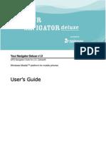 Your Navigator Deluxe v1.0 User's Guide - US Cellular (Windows Mobile)