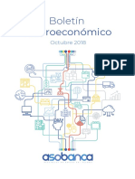Boletín Macroeconómico  - Octubre 2018