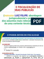 GESTÃO E FISCALIZAÇÃO DE  OBRAS PÚBLICAS