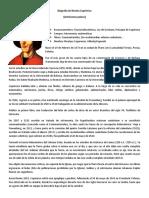 Biografía de Nicolas Copérnico