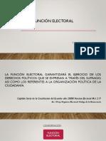 Legislación, Función Electoral.
