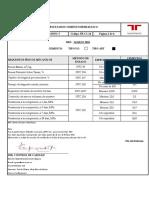 certificado  calidad Cemento Tequendama
