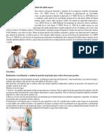 Intervención de Enfermería en El Cuidado Del Adulto Mayor