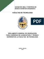a53 Reglamento General Graduacion Tecnologia 2015 Completo