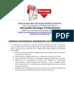 Producto Académico N°1 de Instrumentación, Automatización y Control de Procesos UC - Distancia