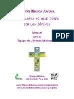 Manual Para El Equipo de Jovenes Misioneros