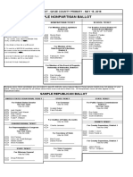 Gage County Sample Ballot