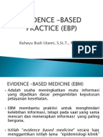 Evidence –Based Practice (Ebp)