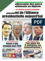 Journal Le Soir Dalgerie 22.10.2018