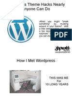 Wordpress Theme Hacks