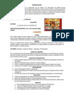 ADMINISTRACIÓN II (Empresa Chapimex)