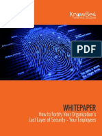 How to Fortify Your Organizations Last Layer of Security