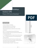 Pharos CPE Datasheet