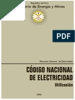Codigo Electrico Del Peru - RESUMEN